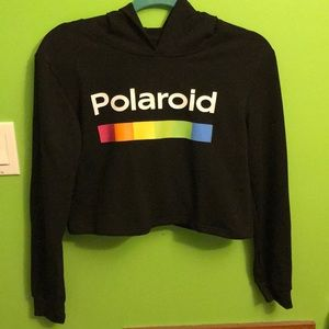 Polaroid crop top